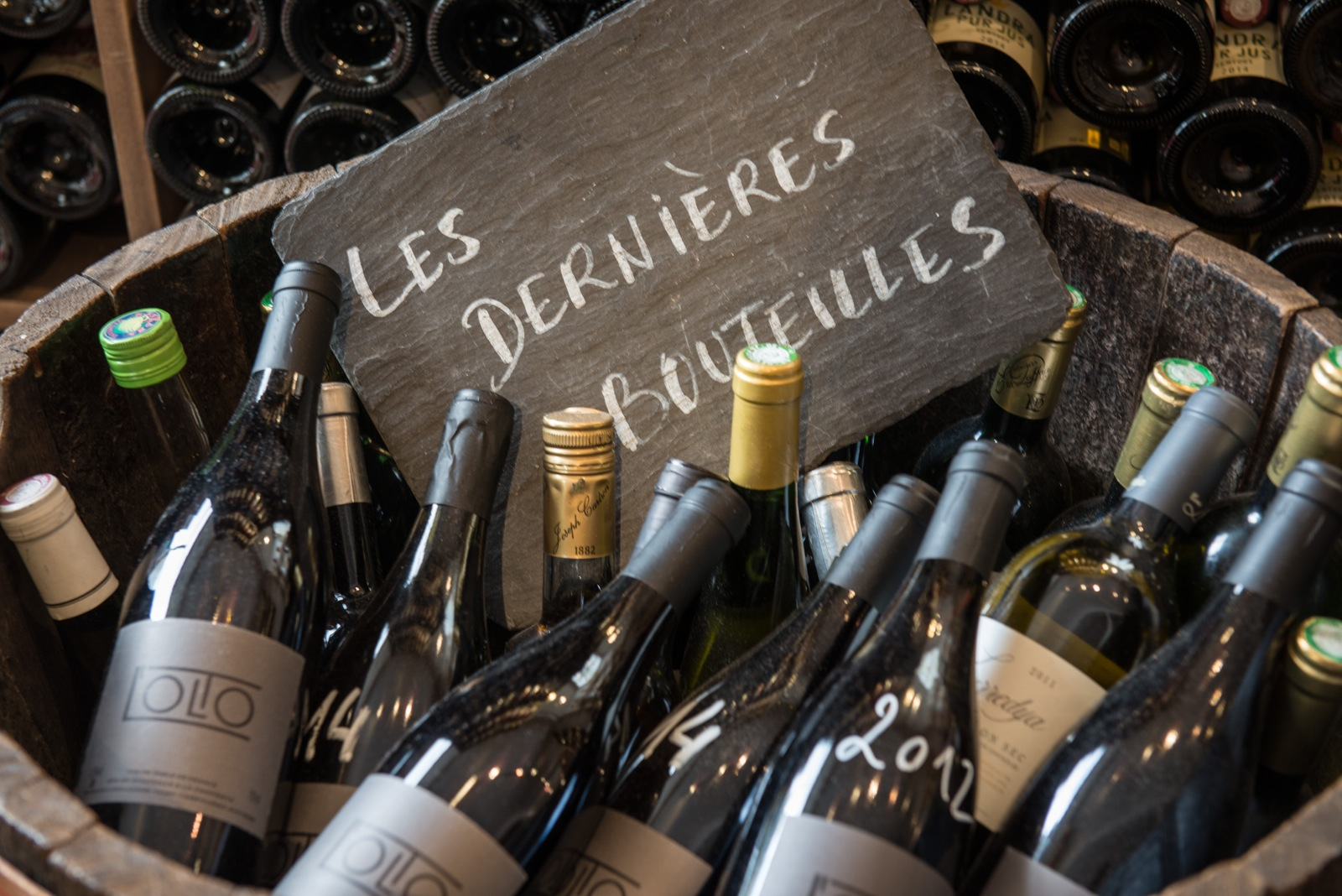 Natural Wine Bars in Paris