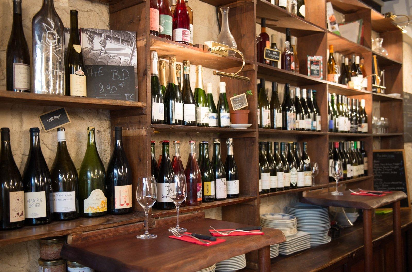 Paris\' Best Natural Wine Bars & Shops « HiP Paris Blog