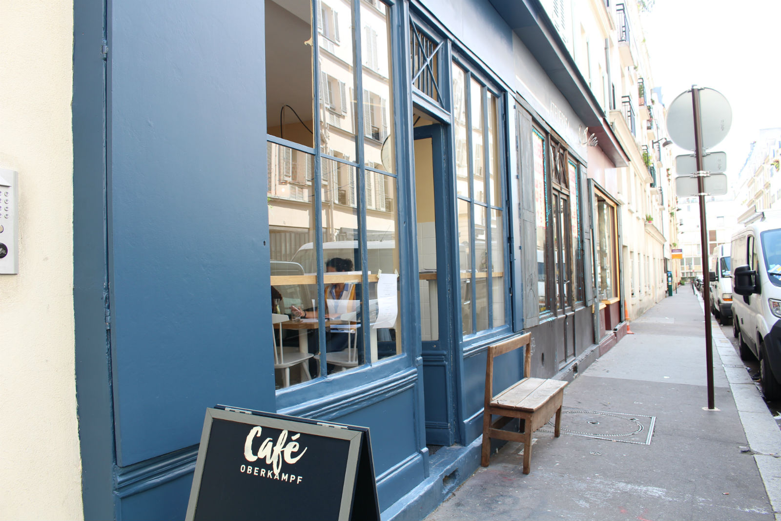 HiP Paris blog. Cafe Oberkampf. Location on rue Neuve Popincourt.