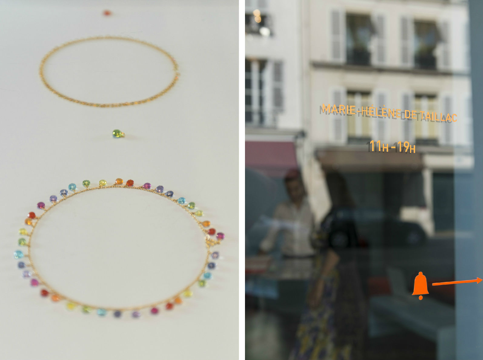 HiP Paris blog. Discovering Saint Sulpice. Jewelry at Marie-Hélène de Taillac on rue de Tournon.
