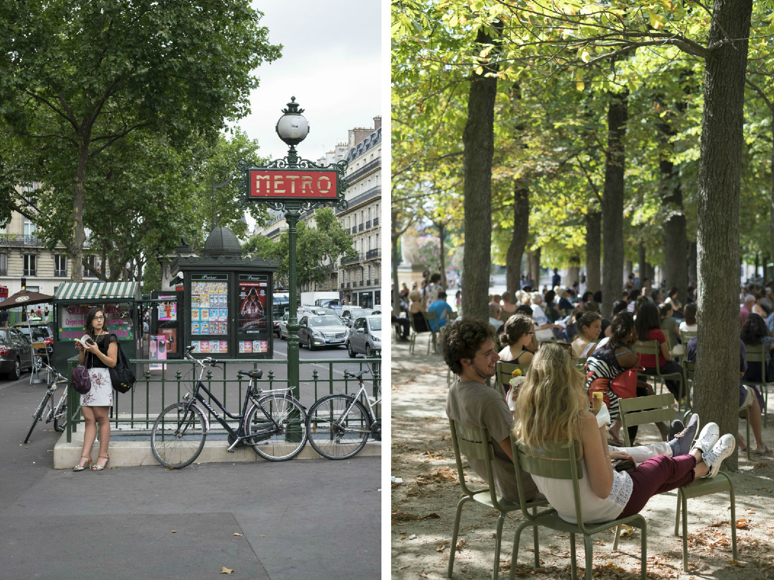 HiP Paris blog. Discovering Saint Sulpice. Metro Odéon and Jardin du Luxembourg.