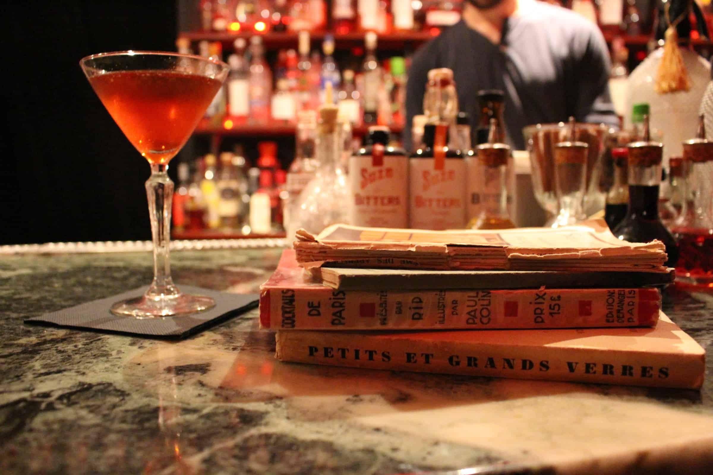 HiP Paris A La Francaise cocktail books