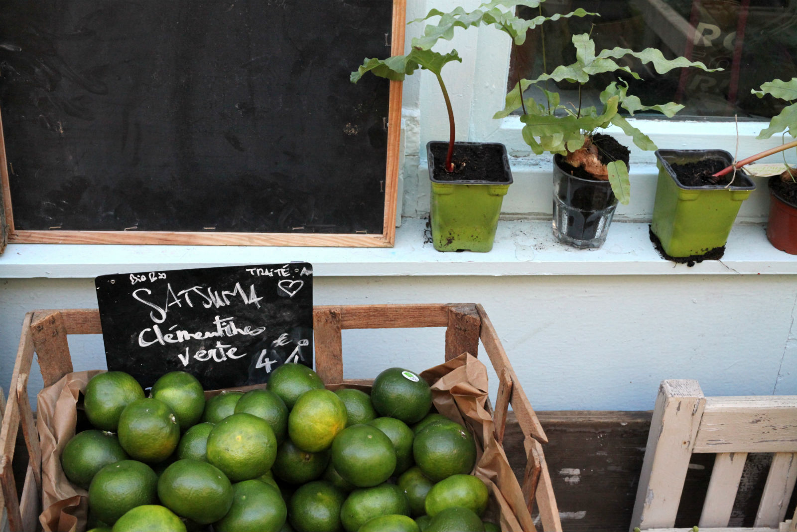 HiP Paris L'Epicerie Vegetal limes