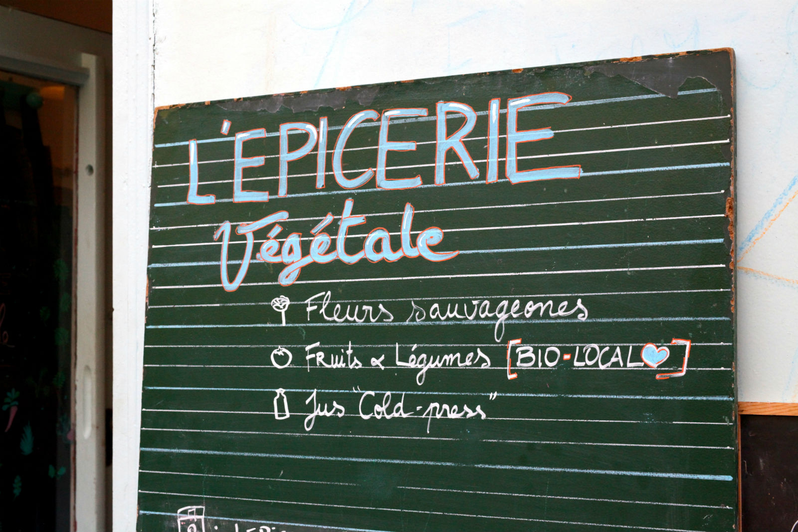 HiP Paris L'Epicerie Vegetal sign