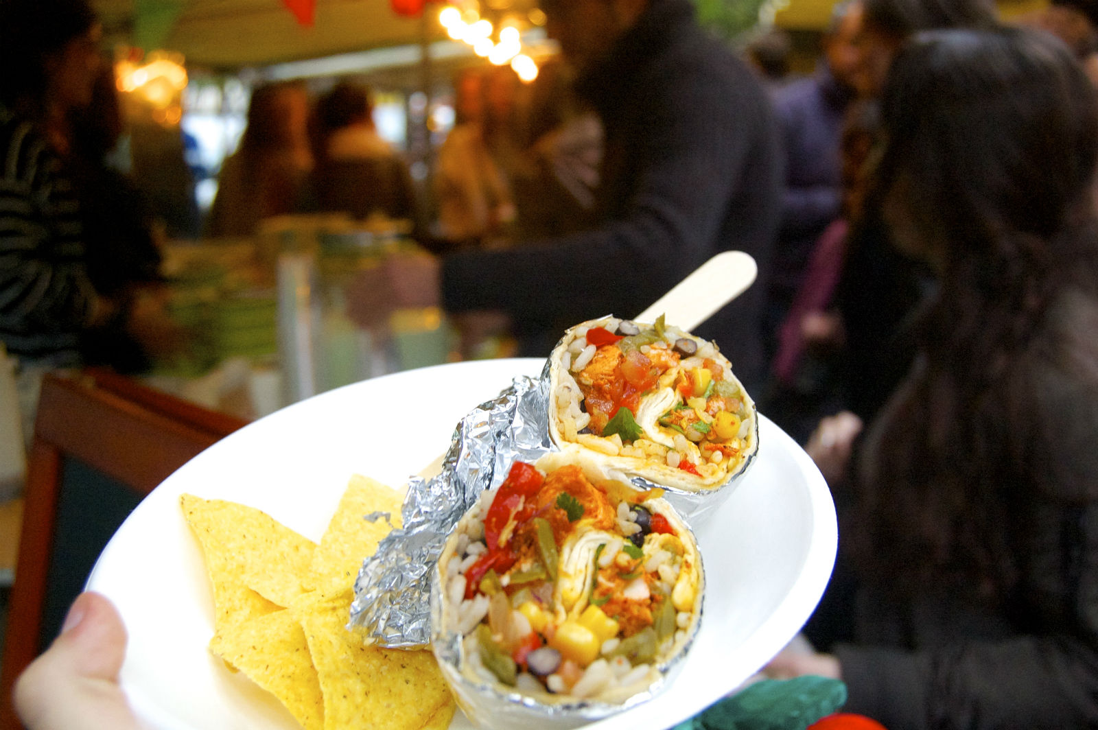 HiP Paris blog. Le Food Market. The discovery of a good burrito in Paris is a special moment