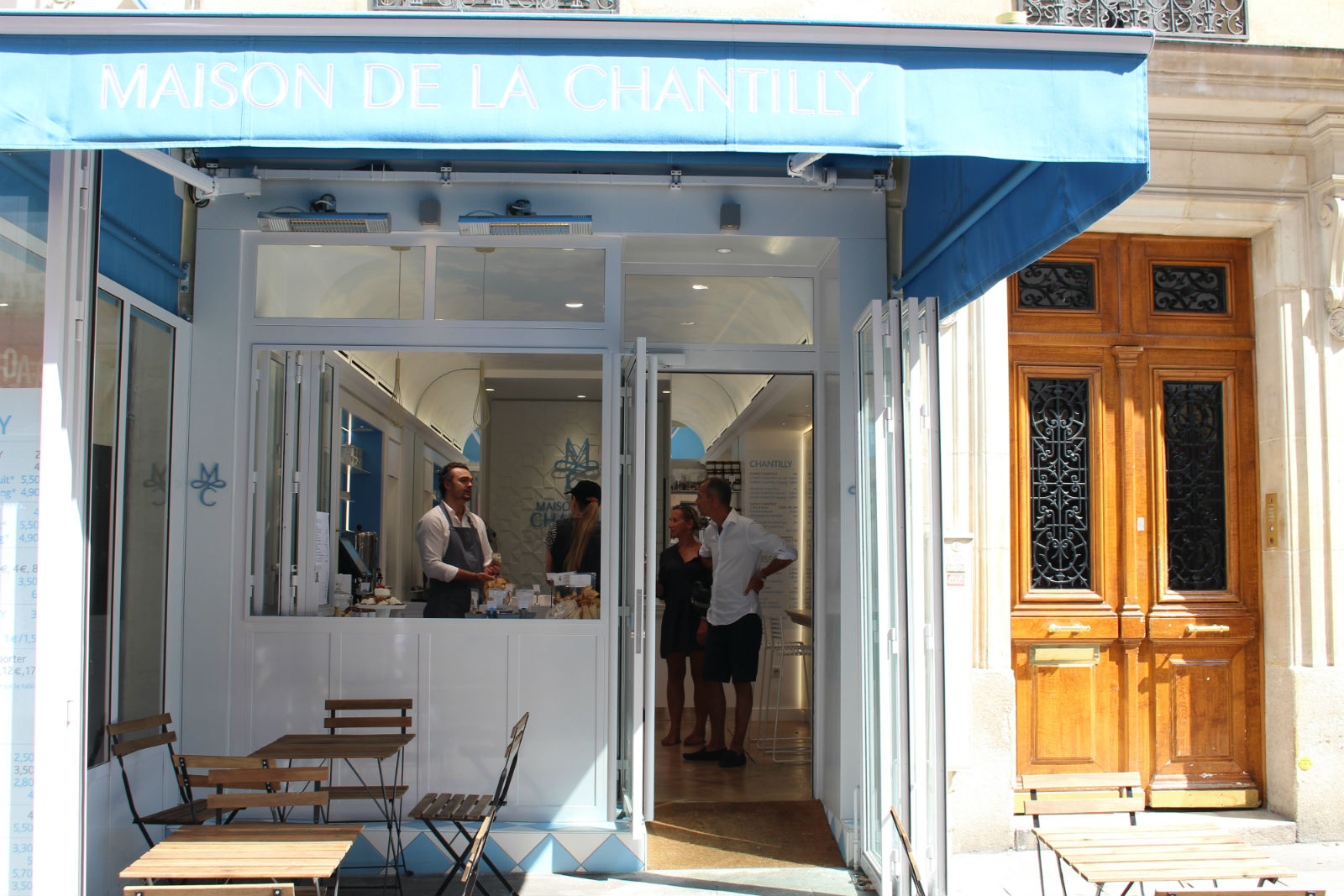 HiP Paris blog. Maison de la Chantilly. A welcome addition to the specialty shops on Rue Cler