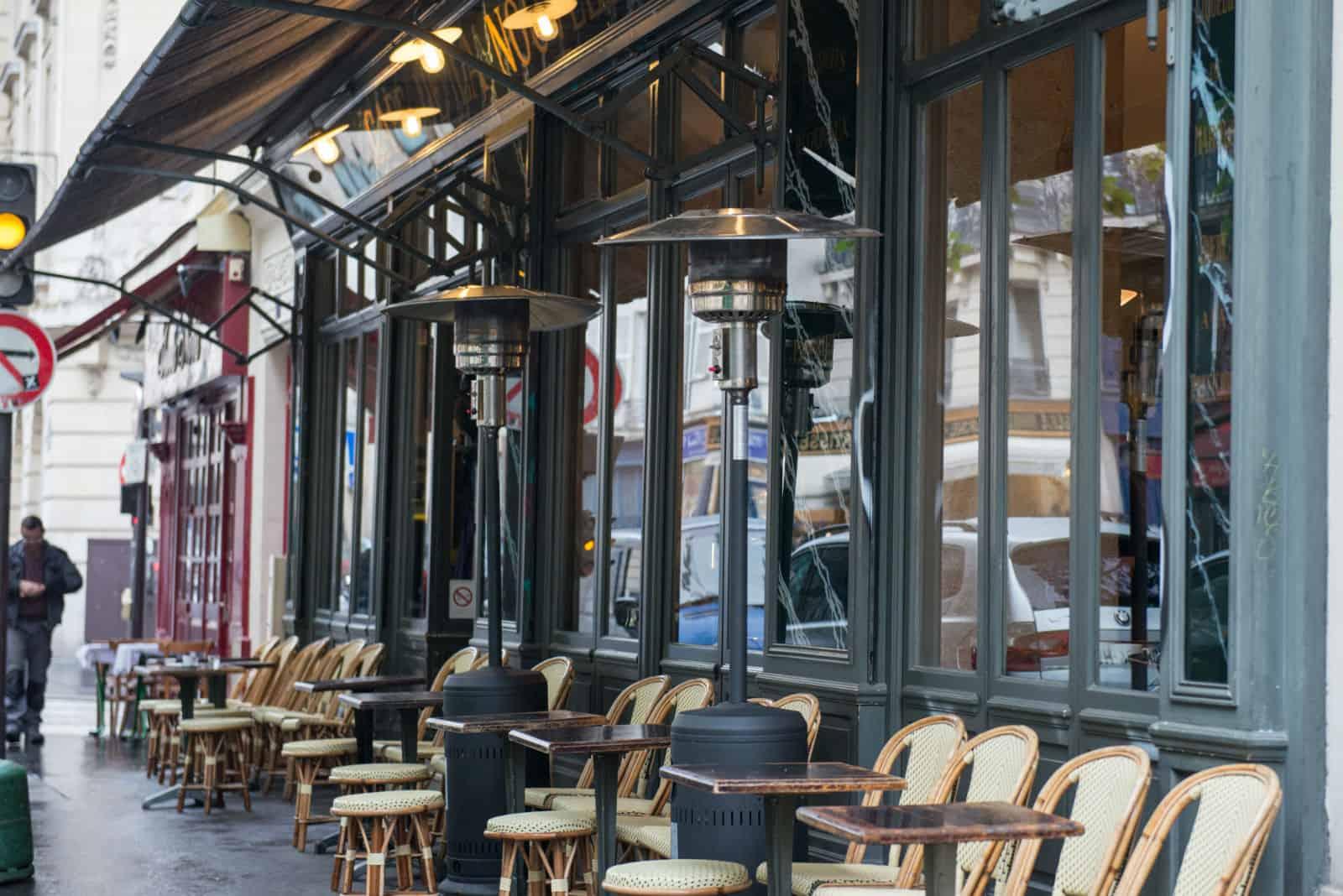 HiP Paris blog. Cafe de la Nouvelle Marie. Street view