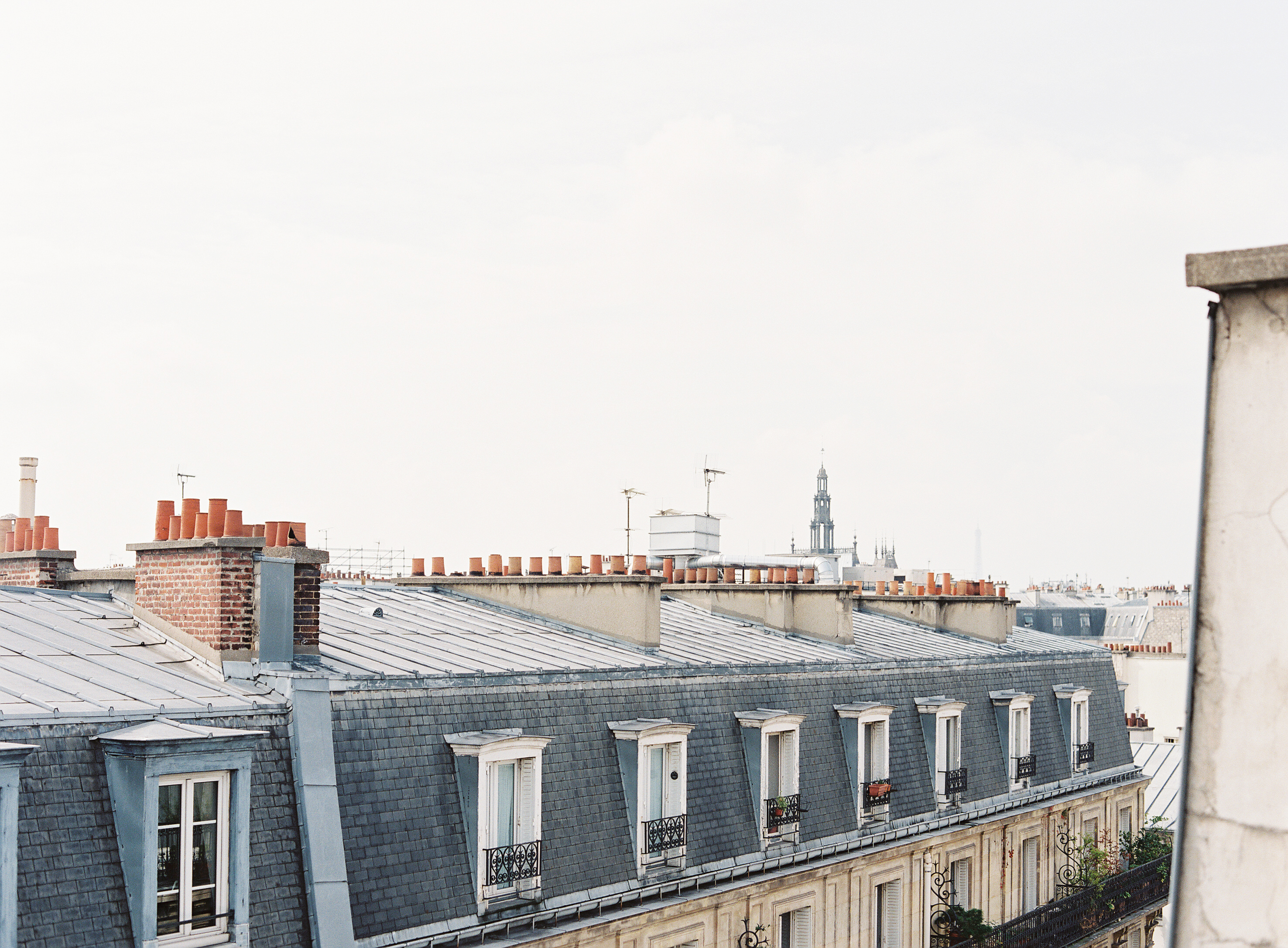 HiP Paris blog. Living, loving, learning in Paris. One of Paris' most distinctive features: its rooftops. Photo by Marjorie Preval.
