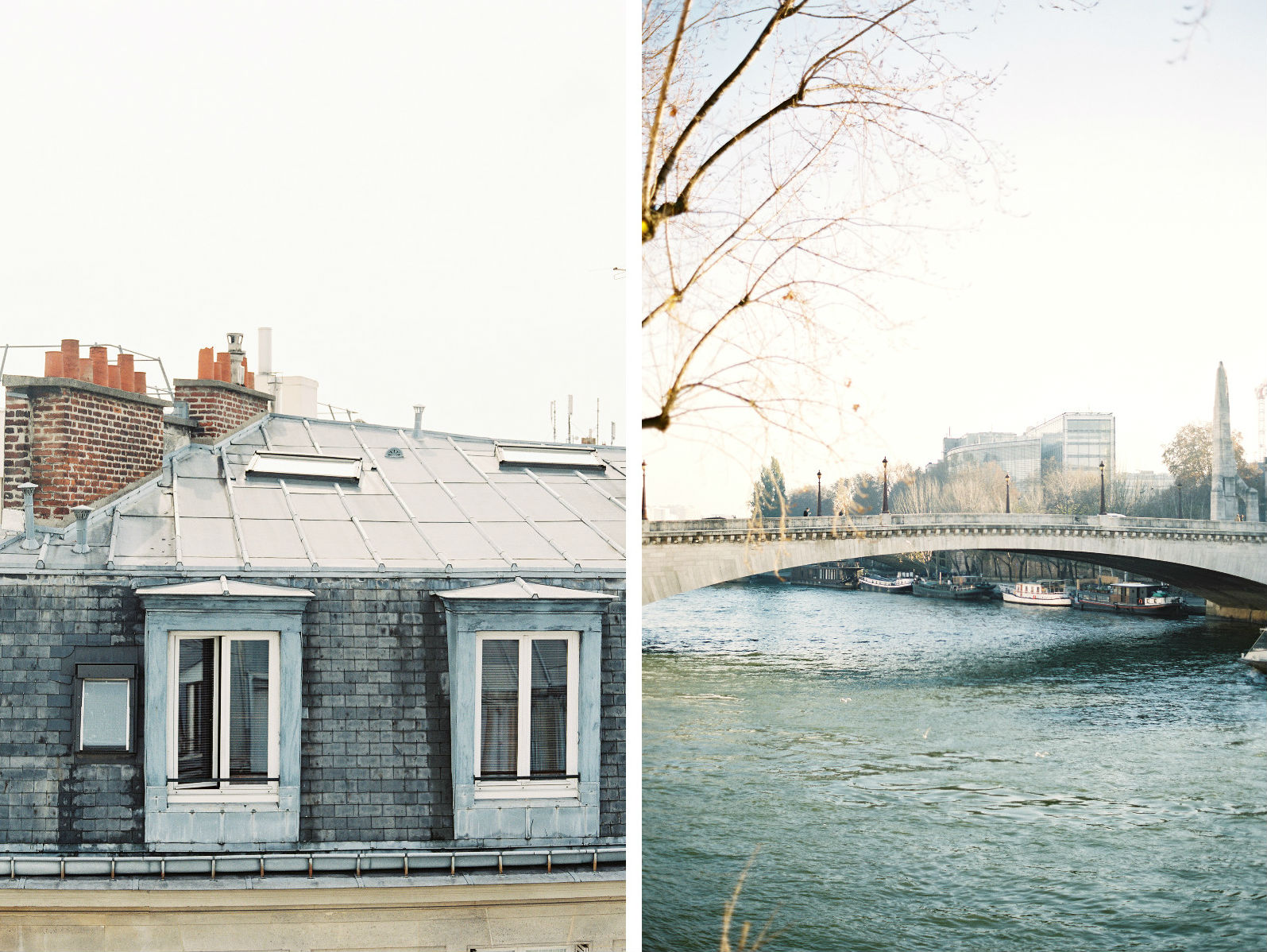 HiP Paris blog. Living, loving, learning in Paris. Over rivers and rooftops. Photo by Marjorie Preval.