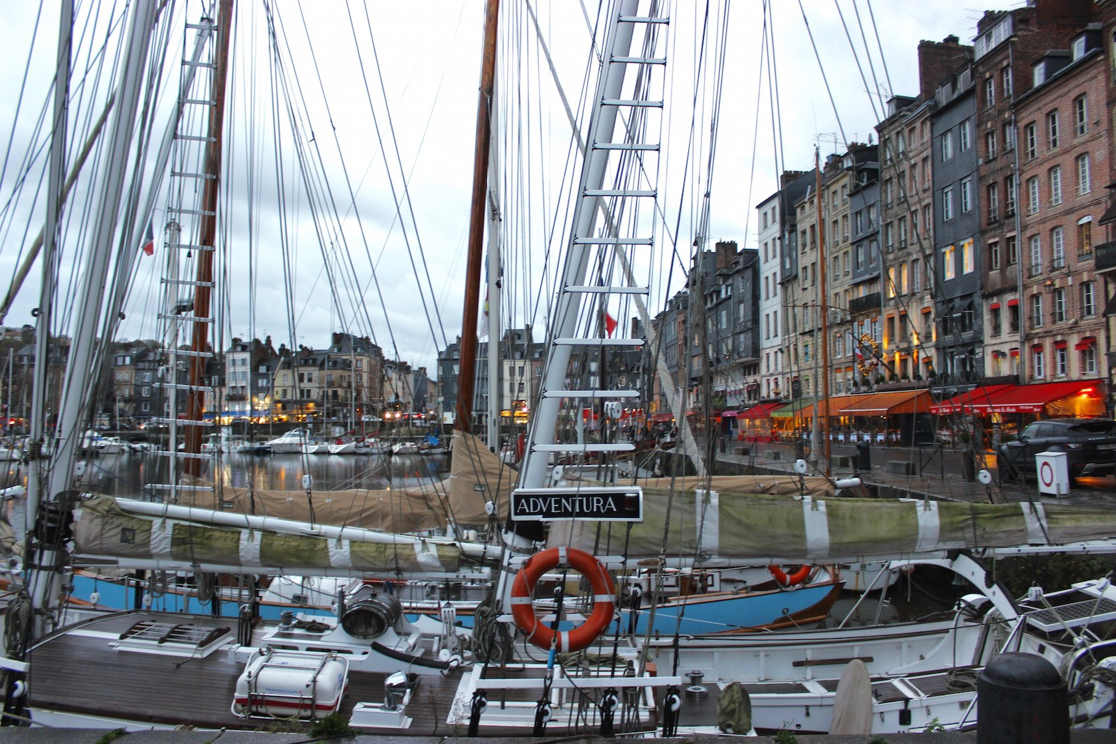 Honfleur, a quaint town in the Normand region of France, is the perfect weekend retreat from Paris.