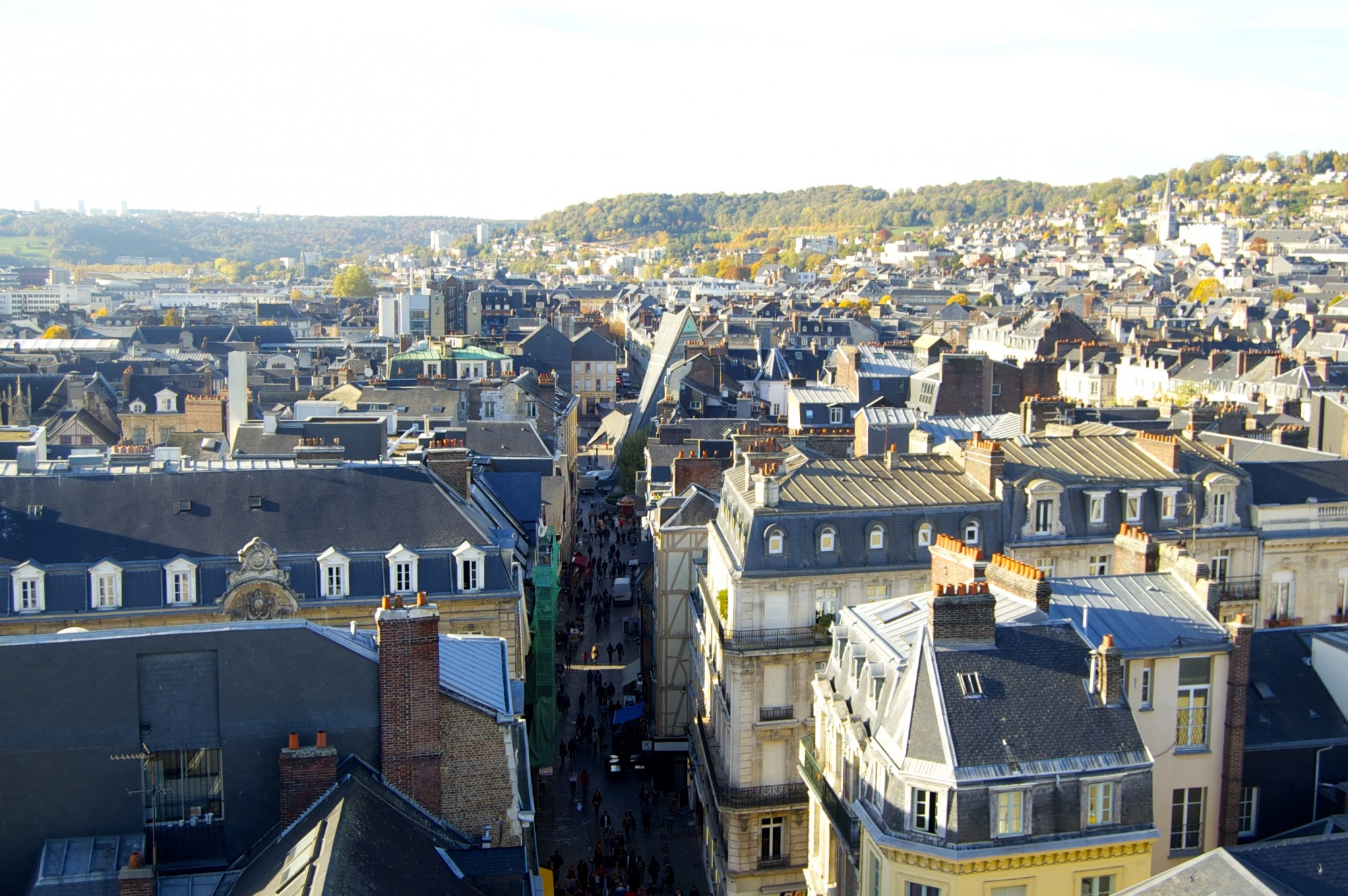 A weekend jaunt through the rustic streets of Rouen.