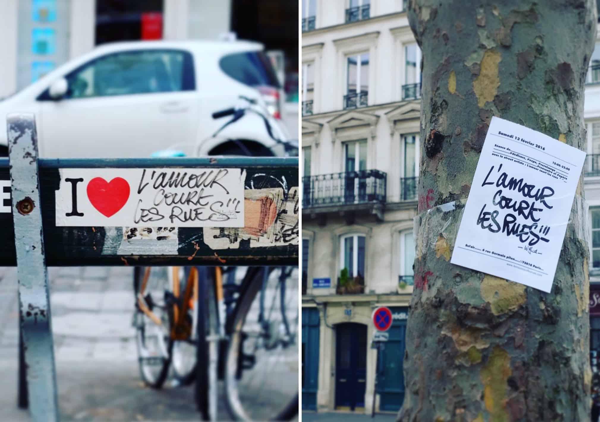 Valentine's Day. Paris. 2016.