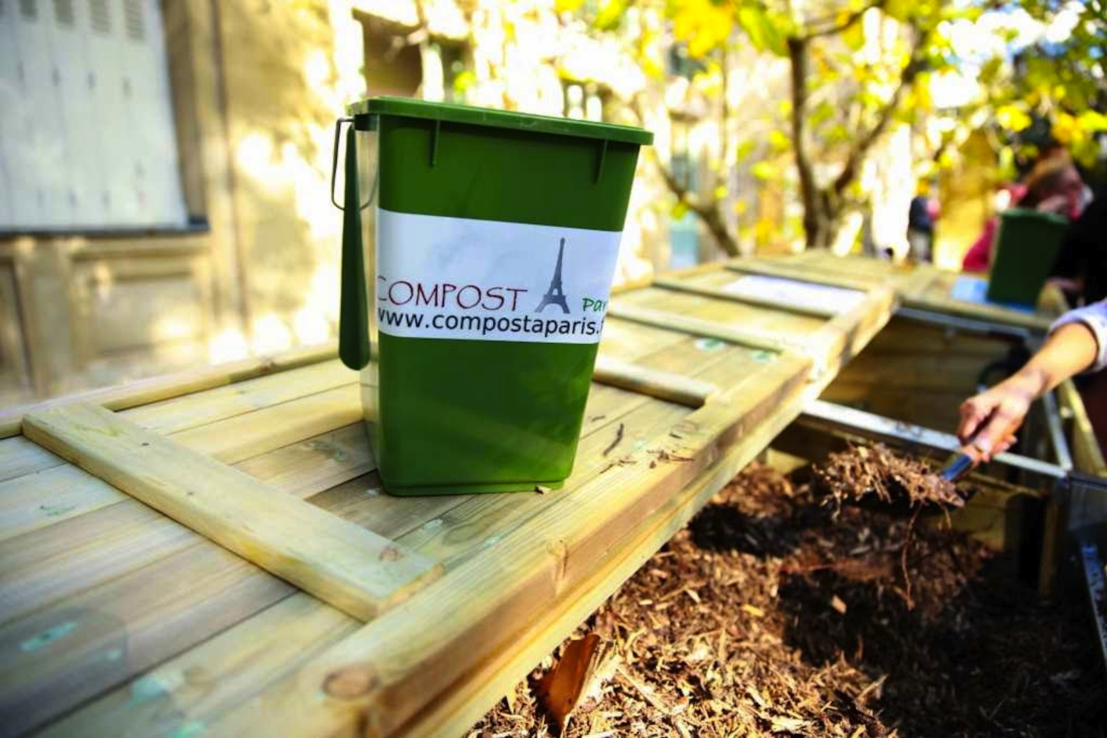 Composting in Paris: Community Gardens and Neighborhood Compost Bins