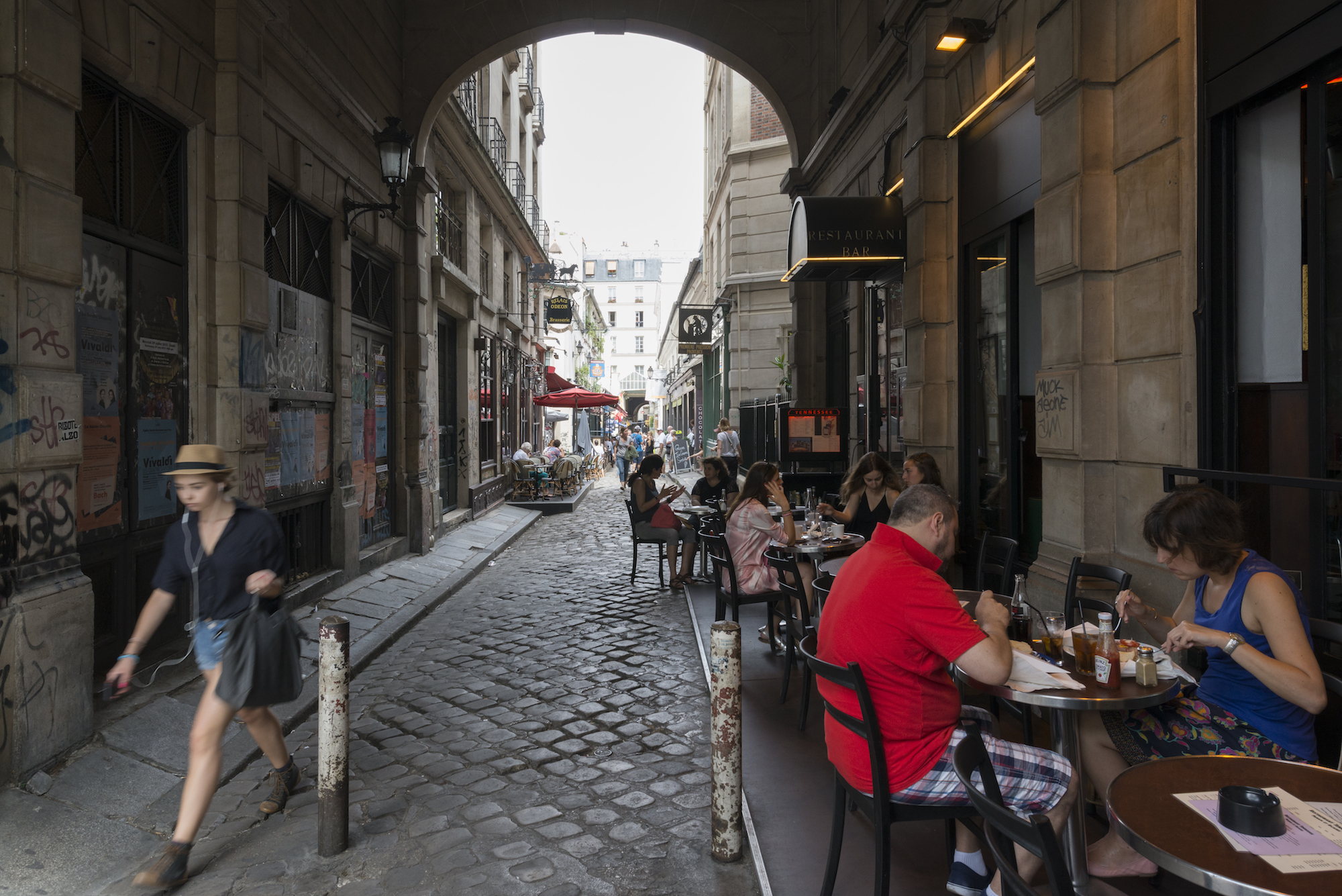 HiP Paris blog. Discovering Saint Sulpice. Cour du Commerce Saint André.