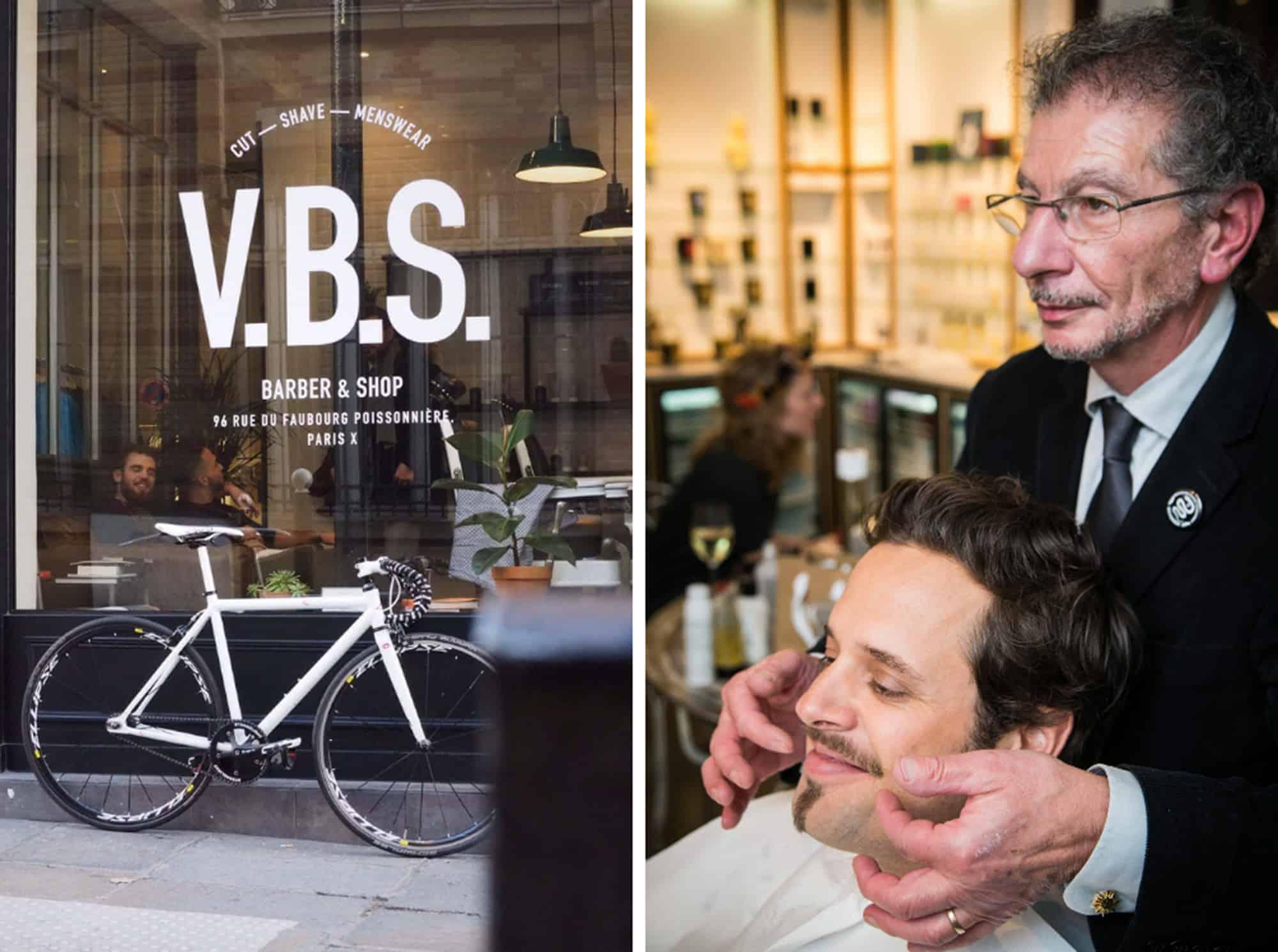 Paris Barbershops, V.B.S, Alain Maitre Barbier Coiffeur