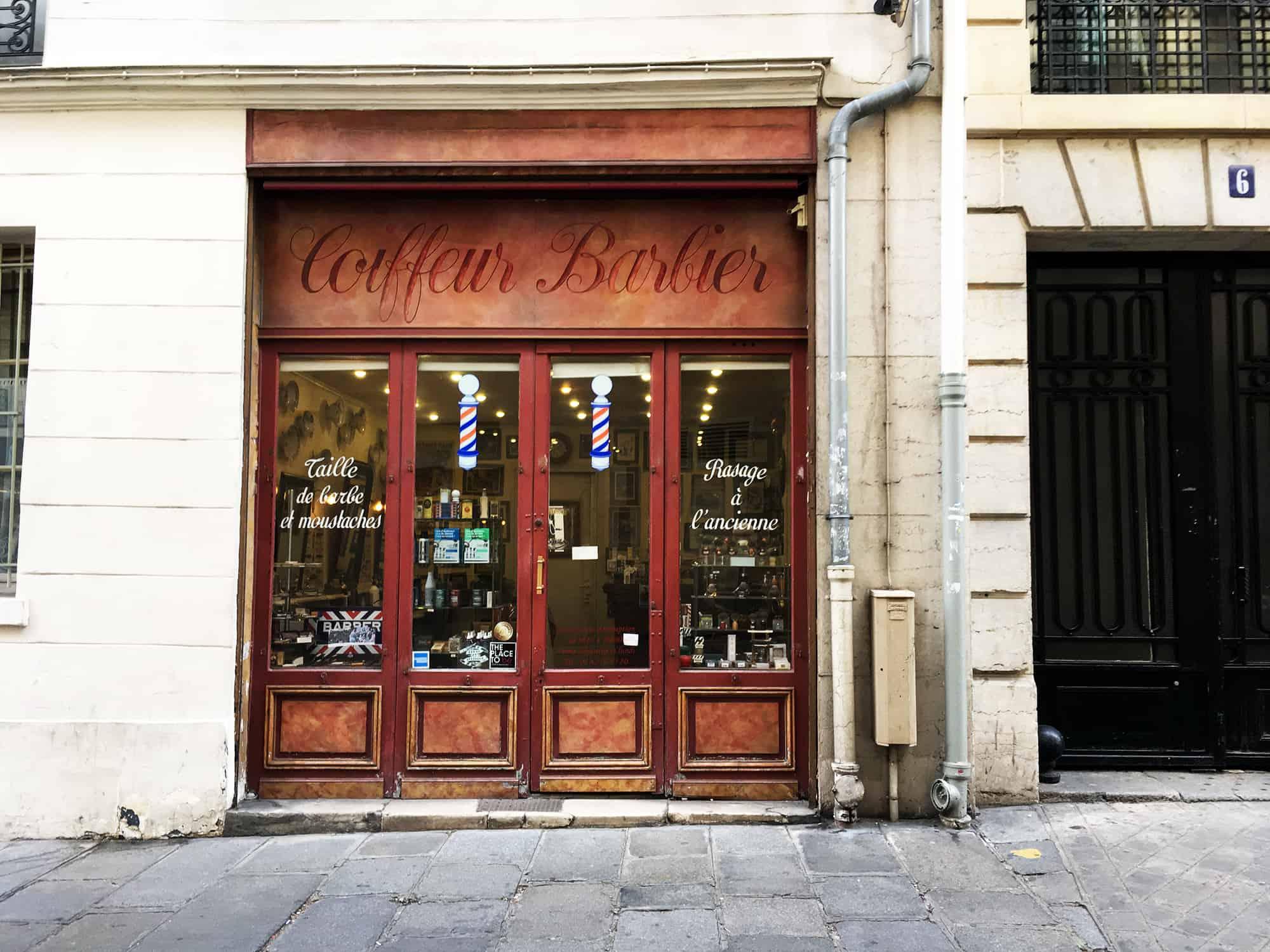 Paris Barbershops, Alain Maitre Barbier Coiffeur