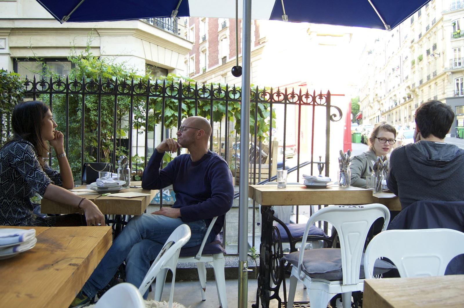 Uptown Restaurant, Montmartre, Paris
