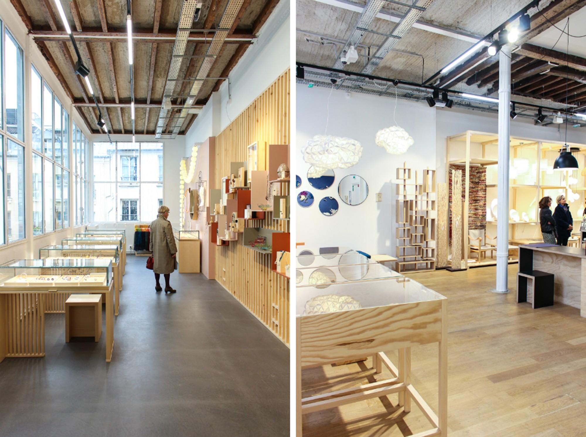 Empreintes Concept Store in the Haut Marais Paris