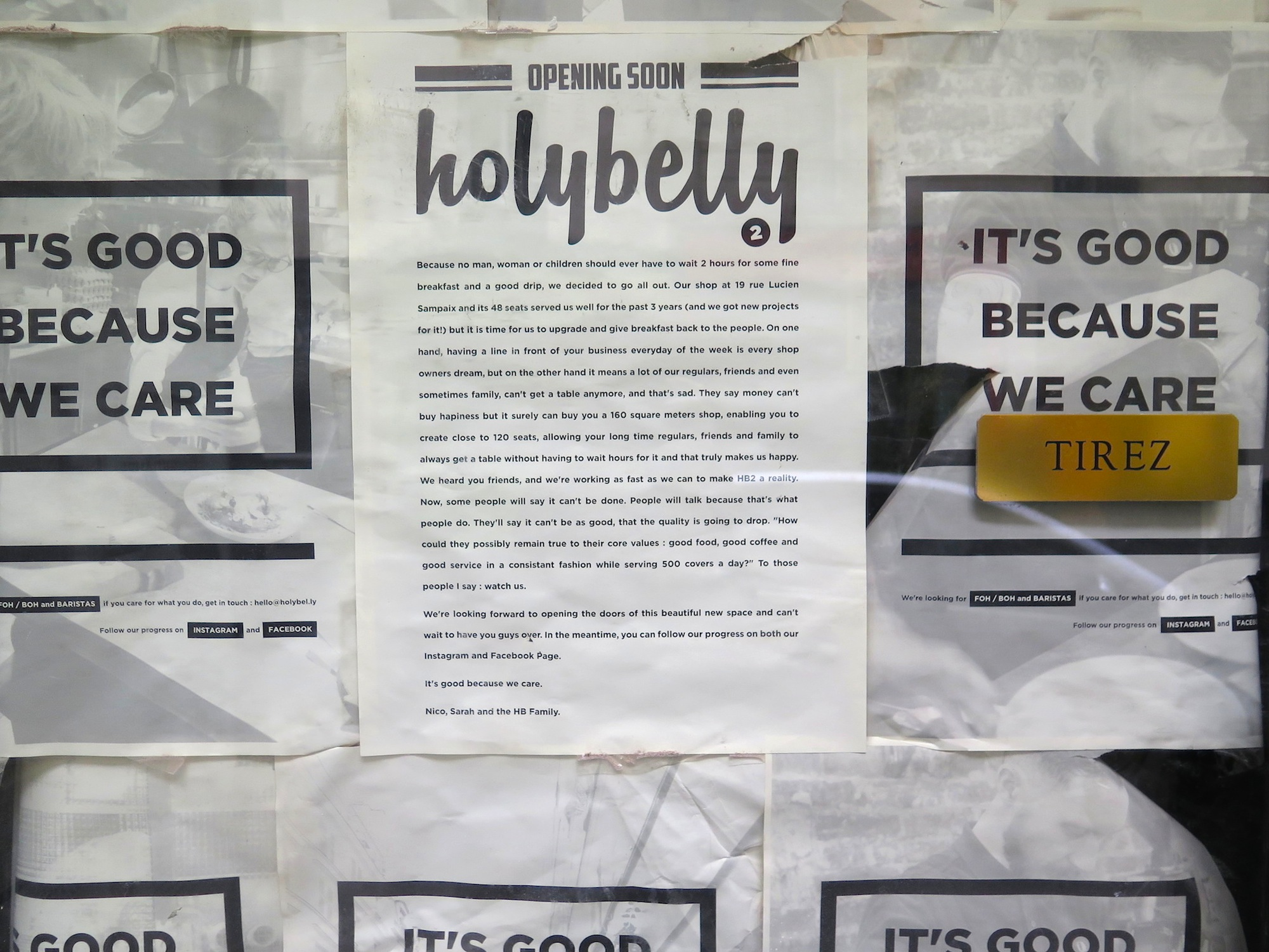 HiP Paris BLog: Holybelly Opens Second Location
