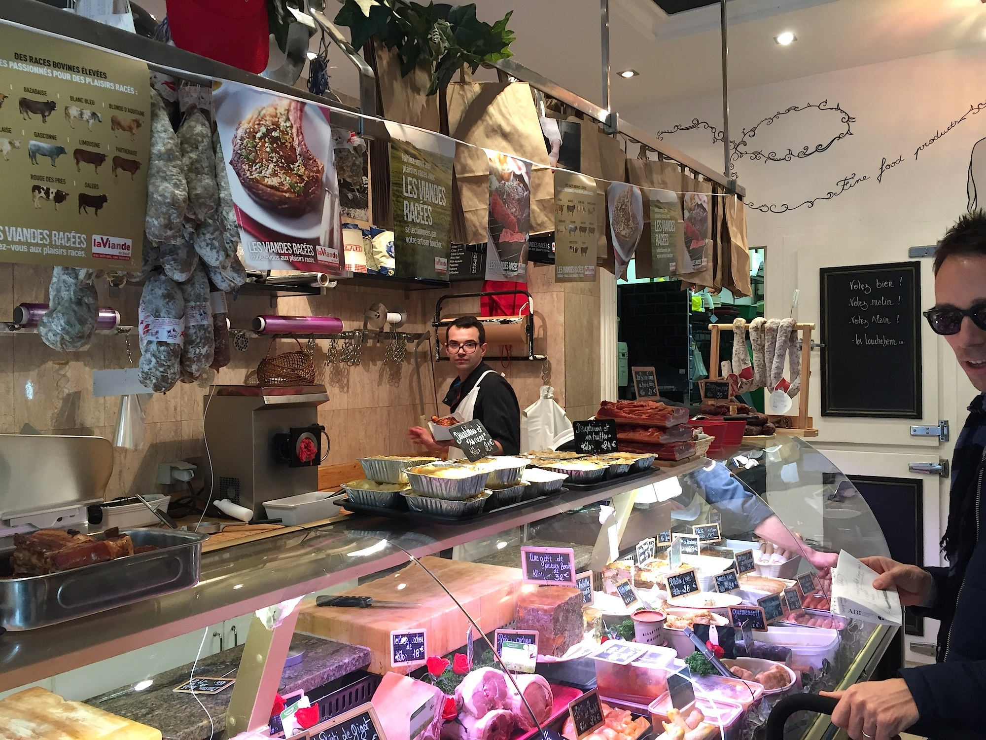 HiP Paris Blog Visits Organic Butcher Prosper Montmartre