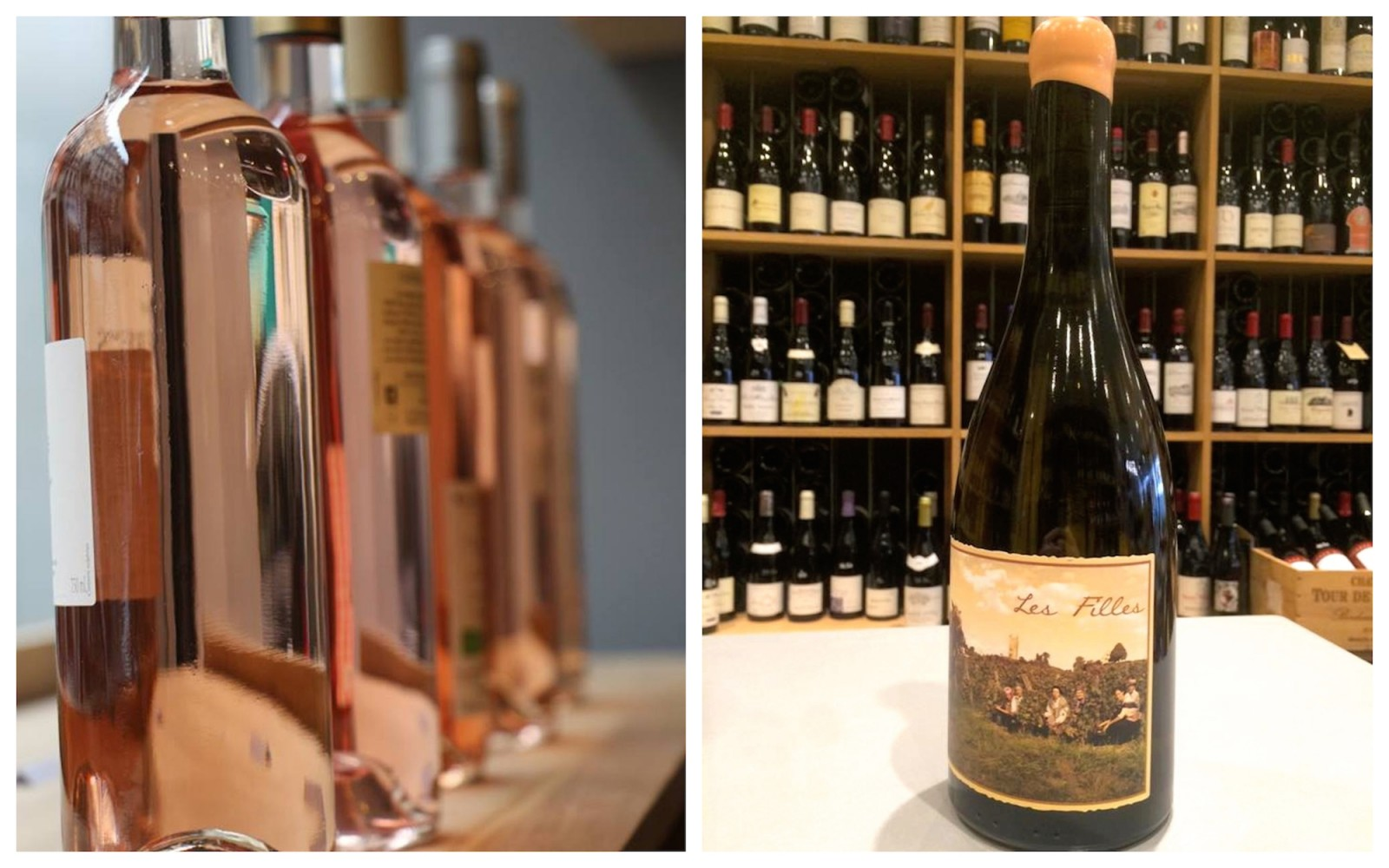 HiP Paris Blog visits Les Petits Domaines - a wine shop for women