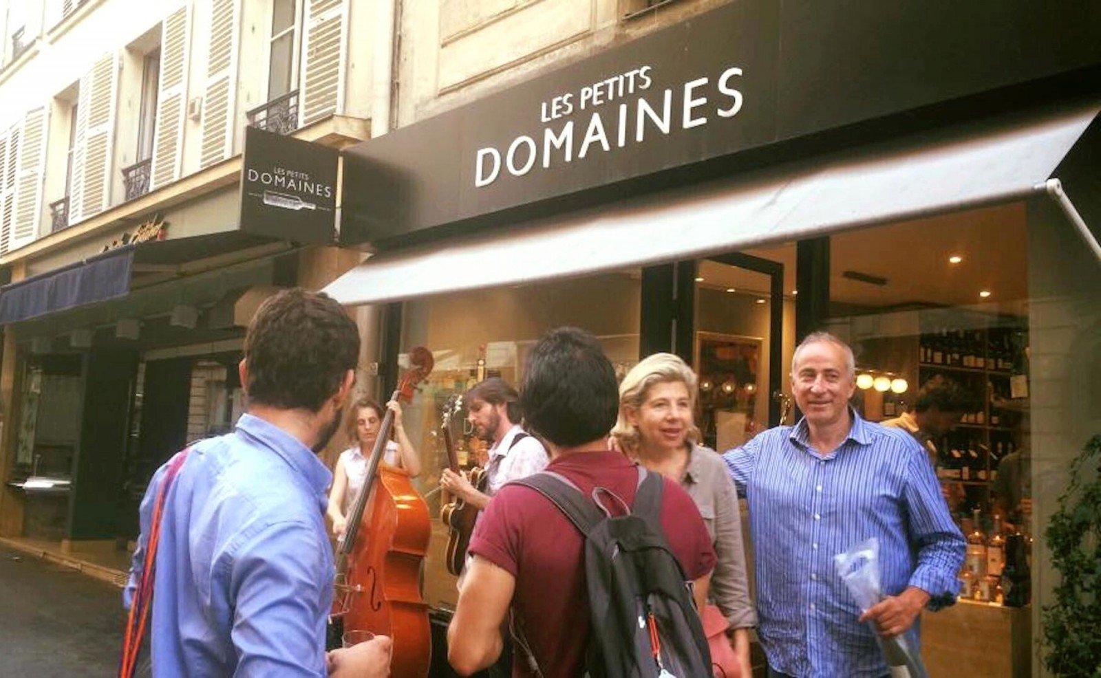 HiP Paris Blog visits Les Petits Domaines - a wine shop for women