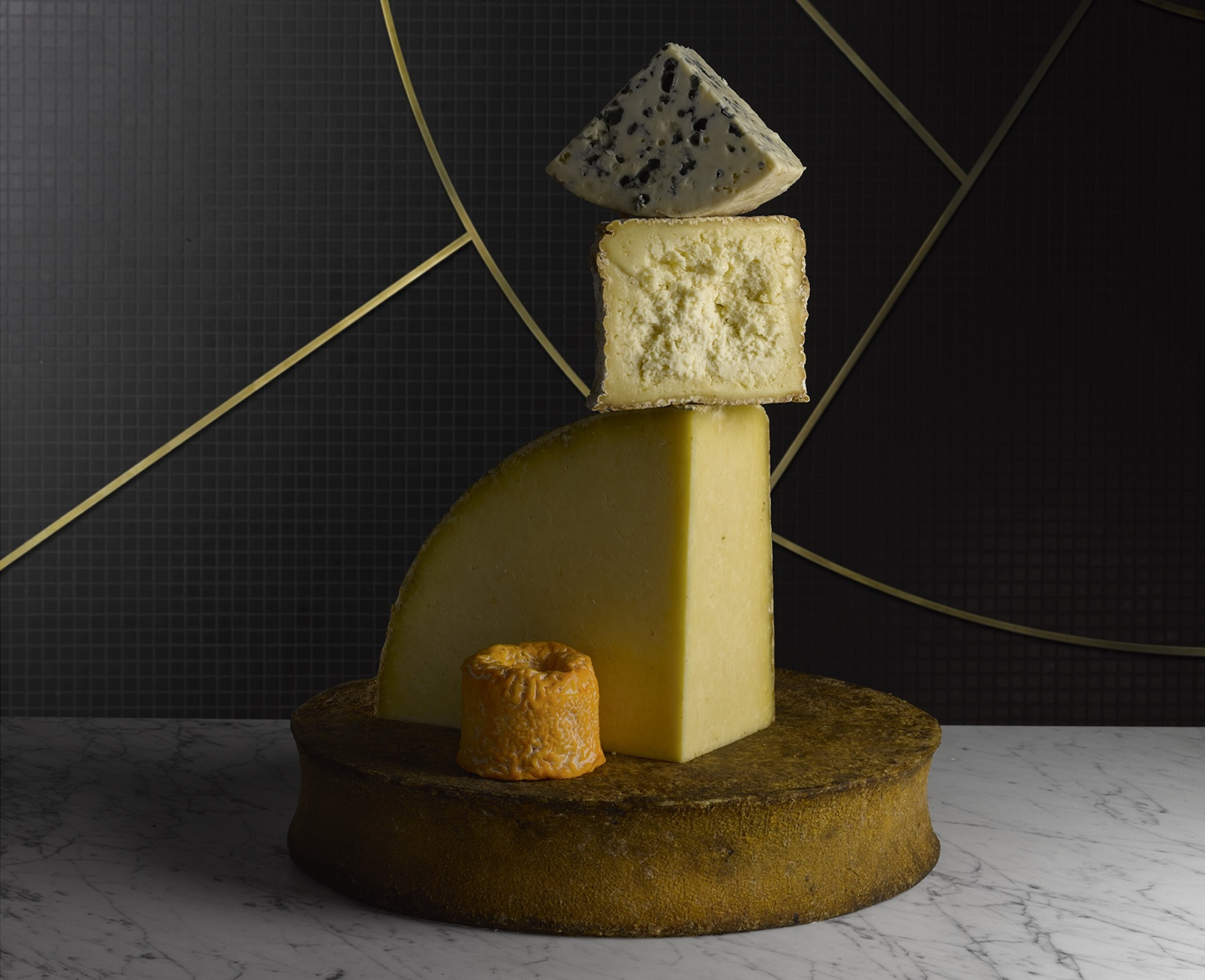 Foodie destination, Printemps du Gout in Paris sells a variety of artisanal French cheese.