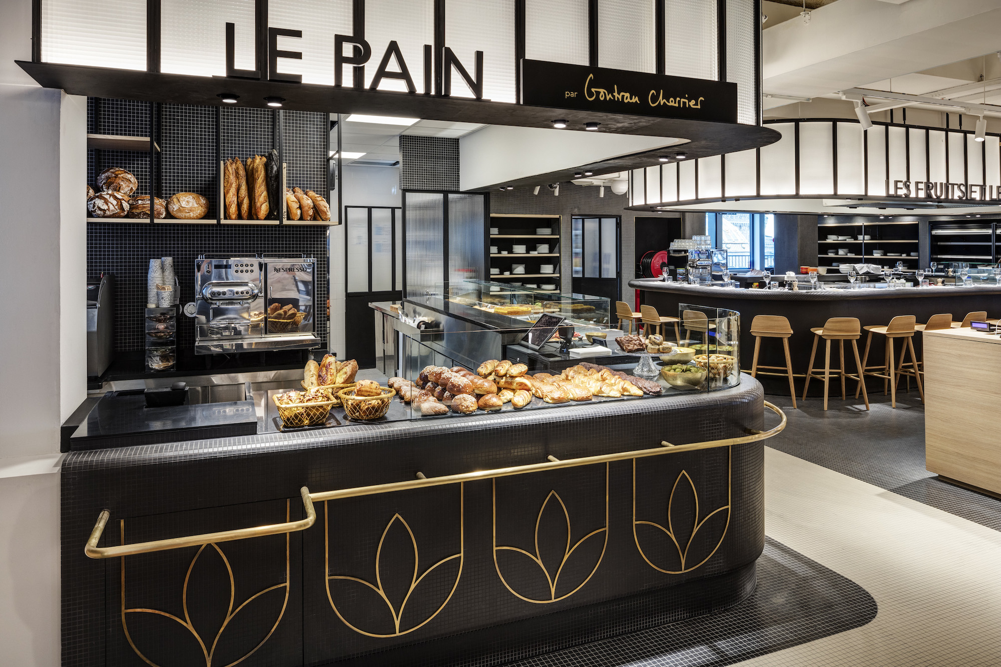 The Gontran Charrier bakery at Paris foodie shopping mall Printemps du Gout.