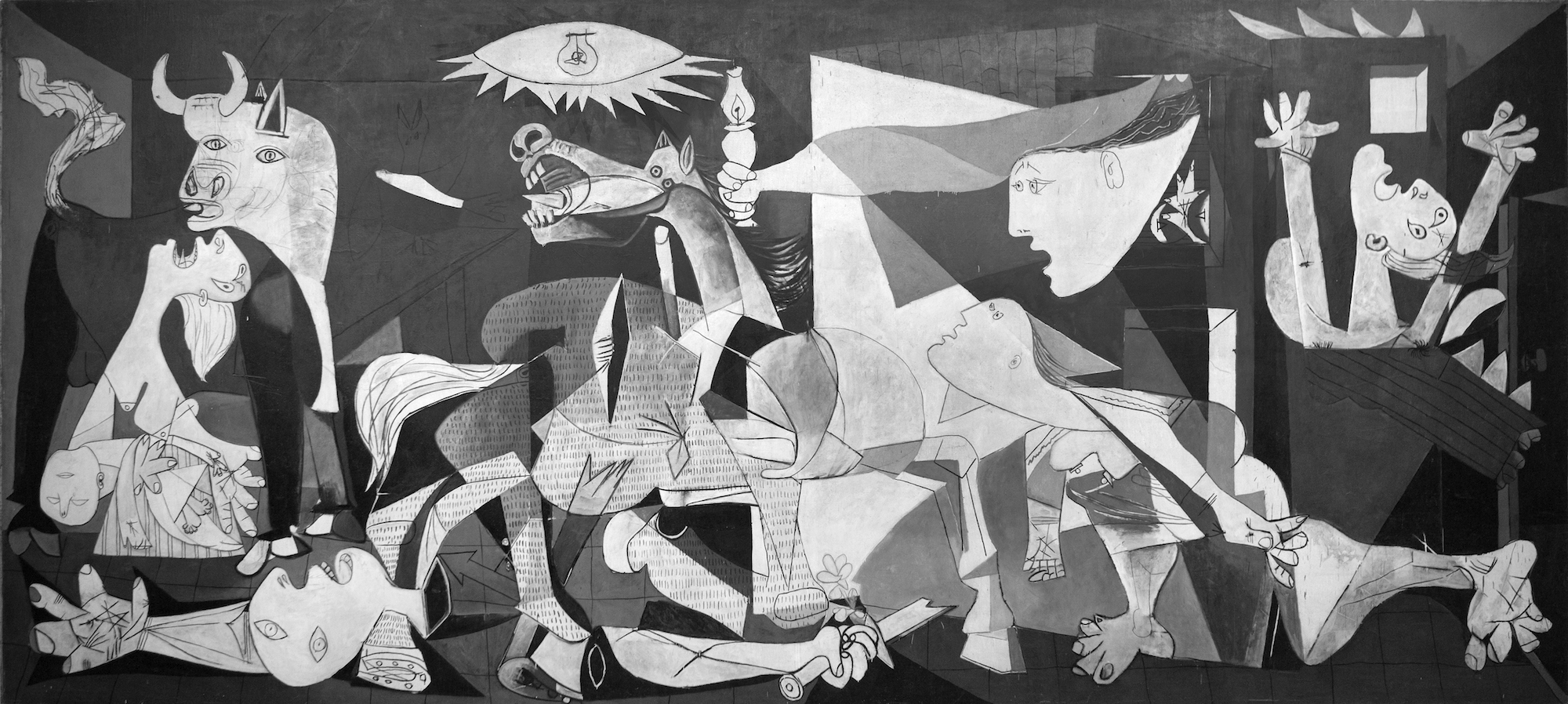 Exhibitions in Paris in March, include a new show at the Picasso Museum, where you can also see the artist's famous 'Guernica' painting.