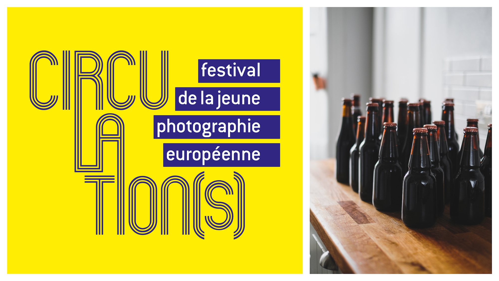 What to do in Paris in March? Photography exhibitions like Circulations (left) and tasting Paris' locally brewed craft beer (right).