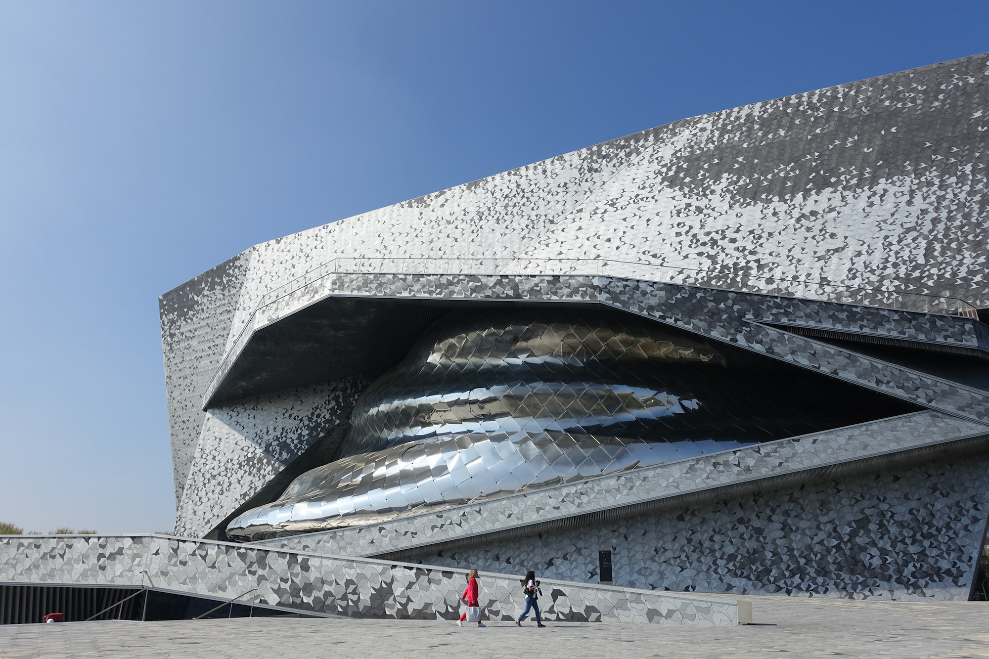 The music events to check out in Paris is April, like at the Philharmonie.