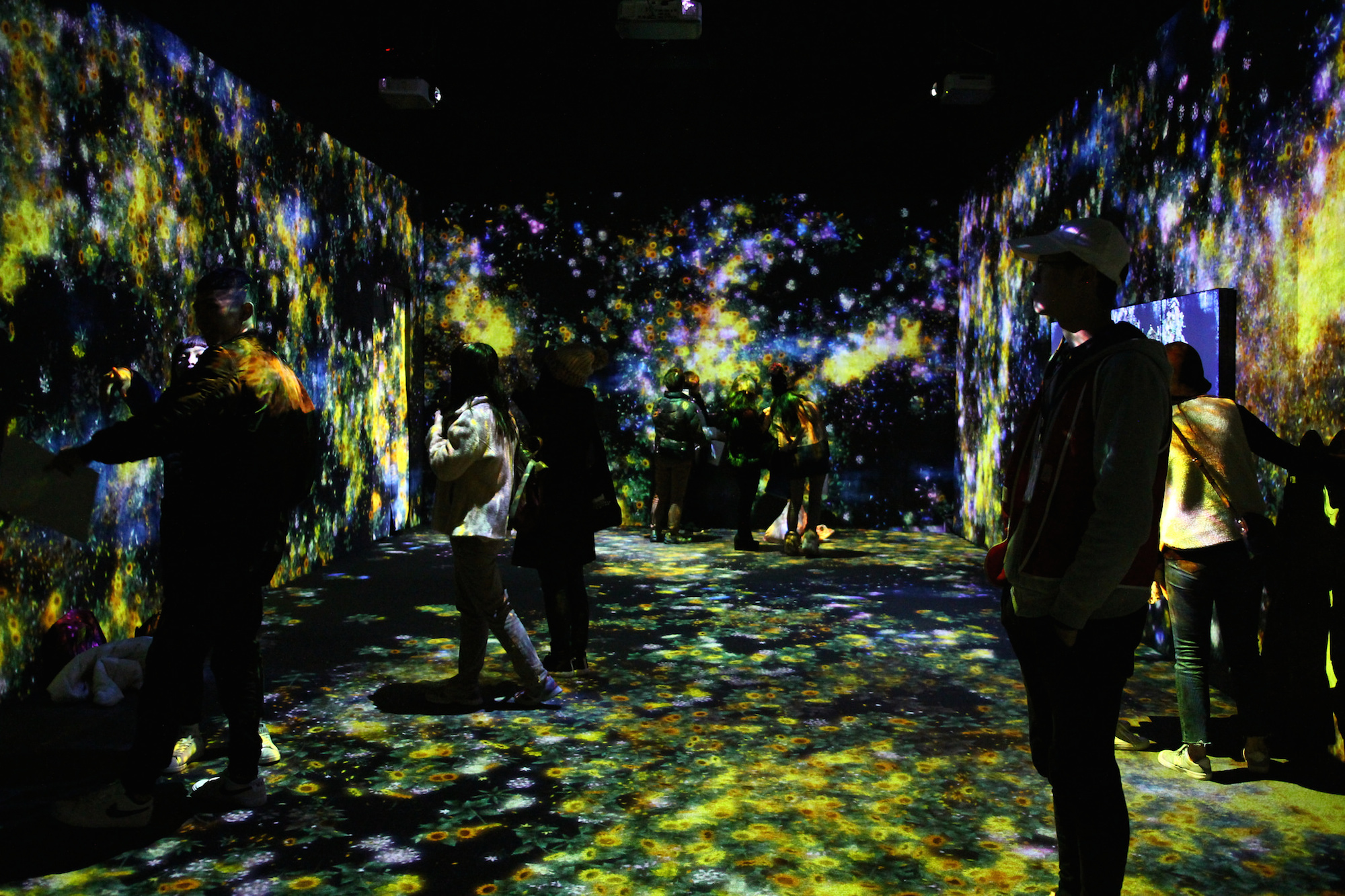 A guide to art events in May in Paris, like Teamlab's installation at La Villette cultural hub.