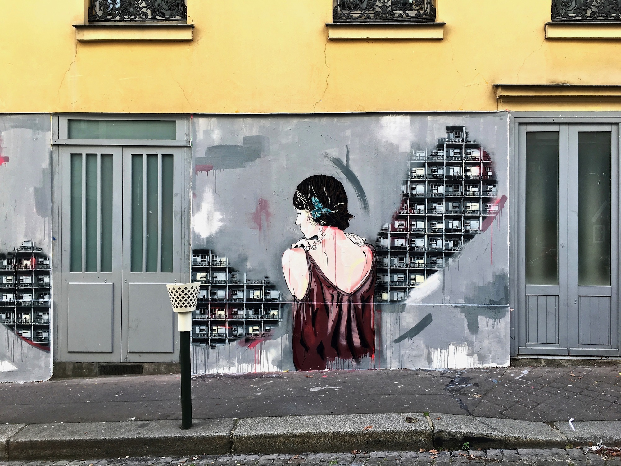 A guide to street art in Paris, from stencil works to stick-on frescoes.
