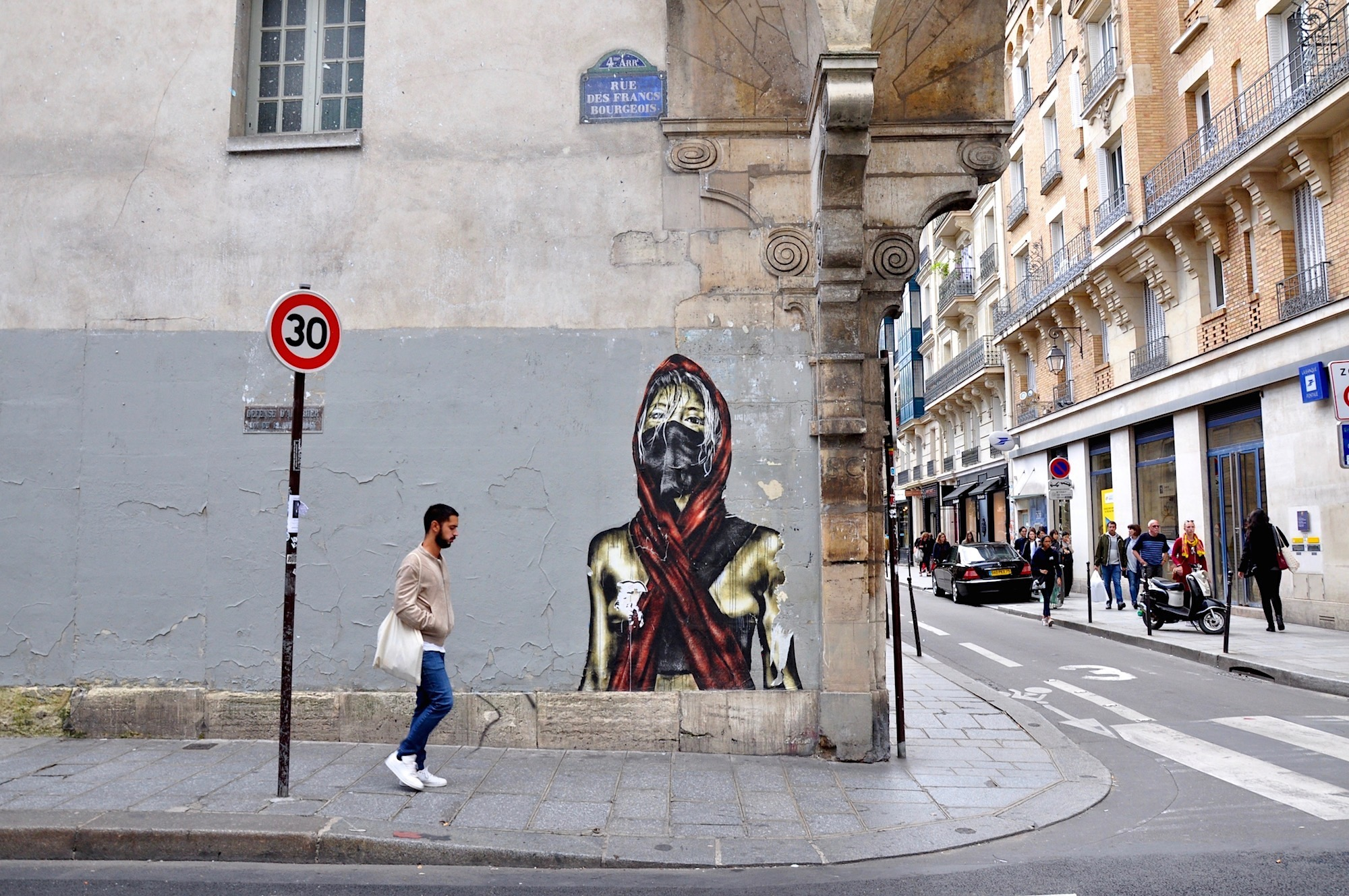 Paris is full of street art to explore on its streets. Find out where to see some of the city's best street art.