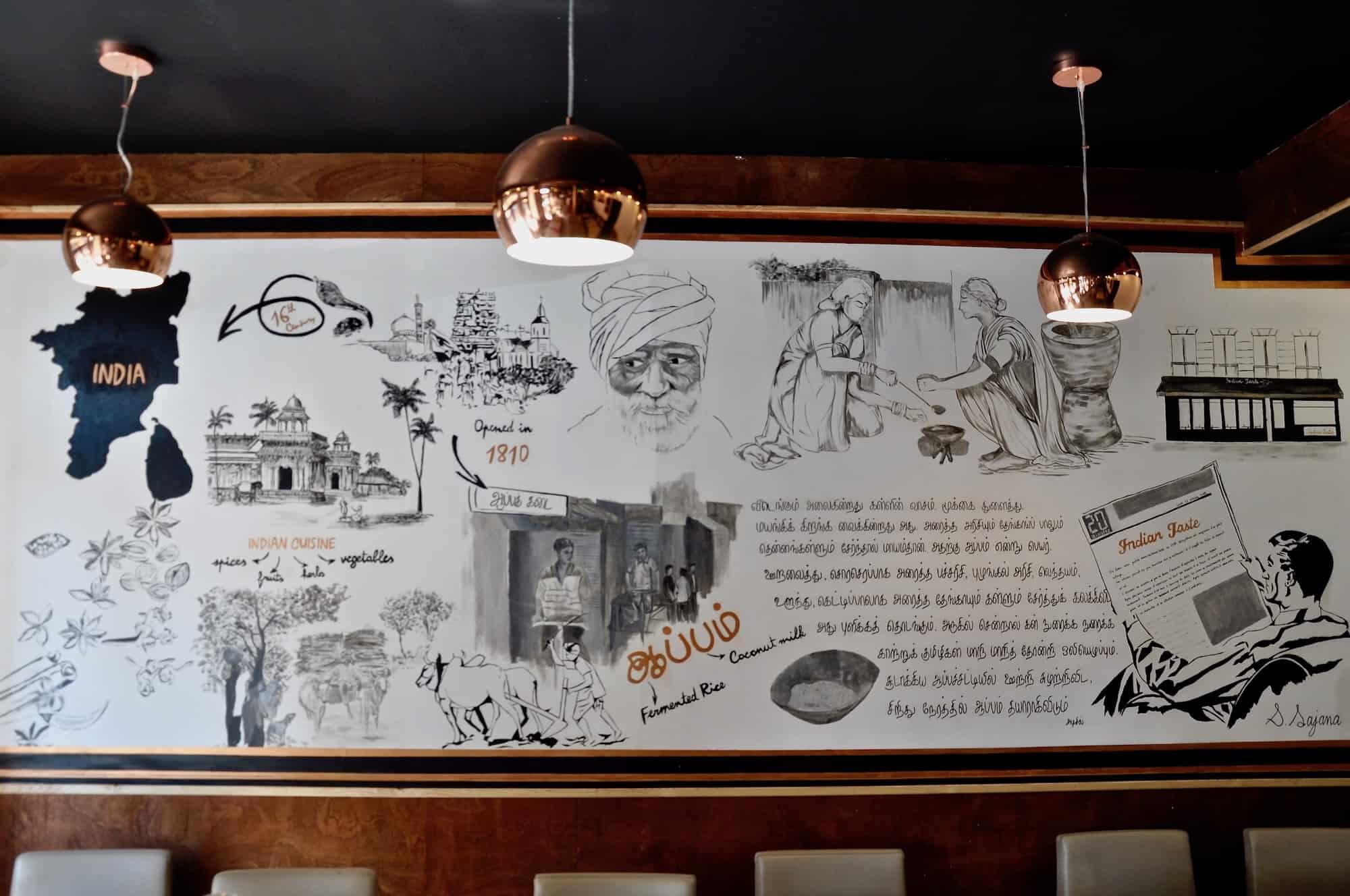 Go to La Chapelle for Paris' best Indian restaurants.
