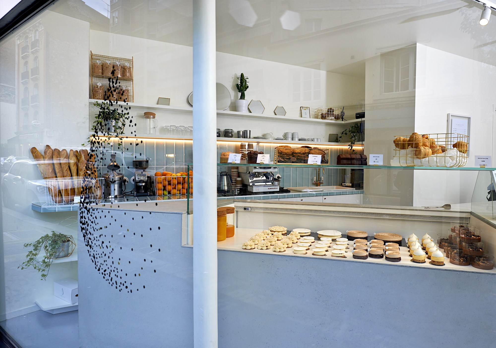 One of the best bakeries in Paris for cakes, pastries and bread is La Goutte d'Or patisserie in the 18th arrondissement.