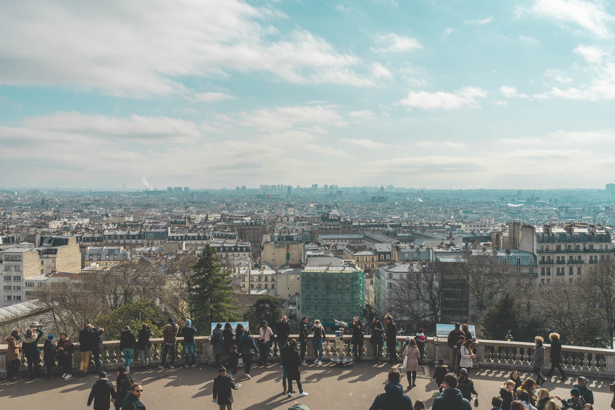 Paris podcast host Oliver Gee's tips on how to see Paris, including views from Montmartre.
