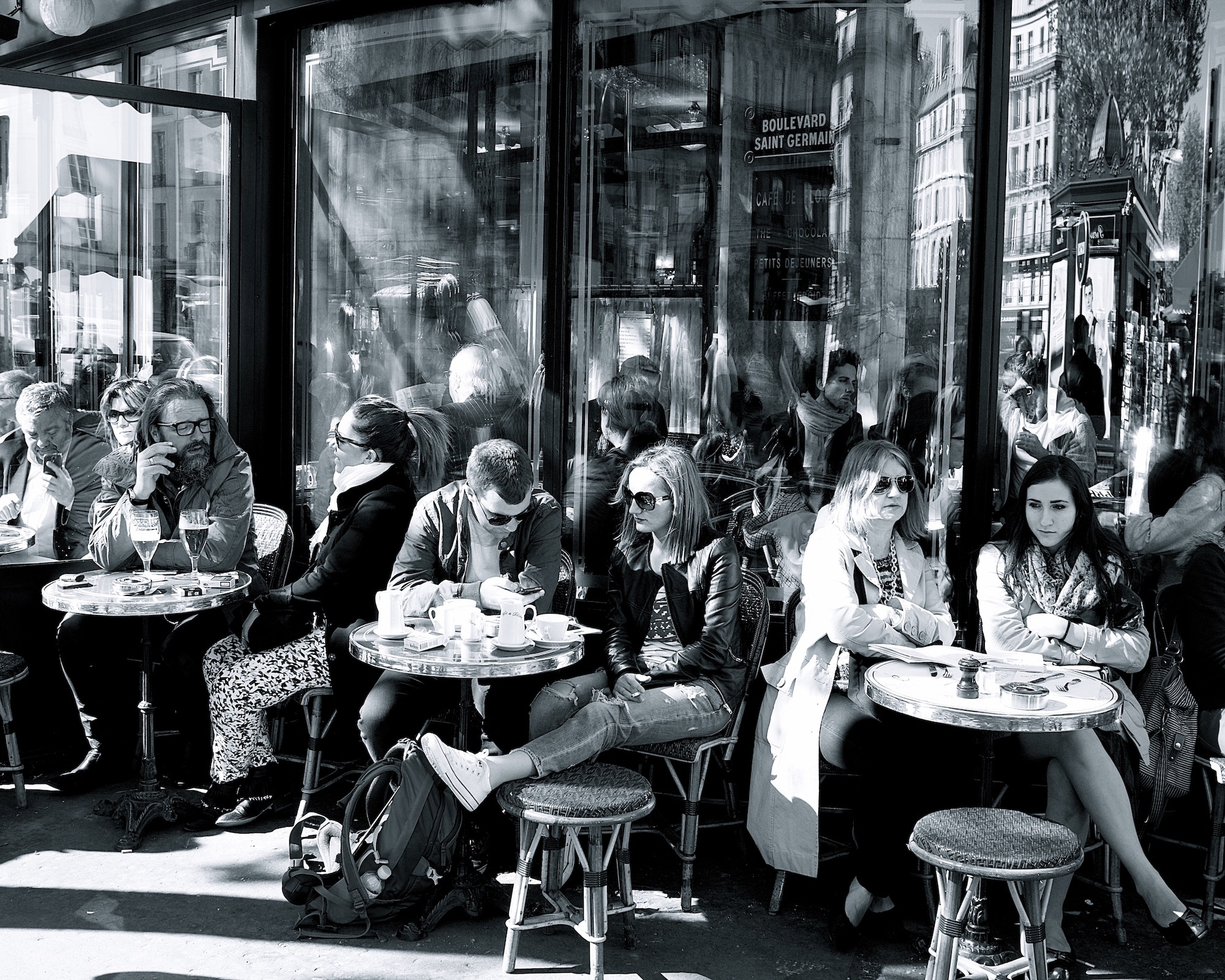 The main difference between French and Italian coffee culture is the café terraces of Paris where everyone loves to sit and watch the world go by.