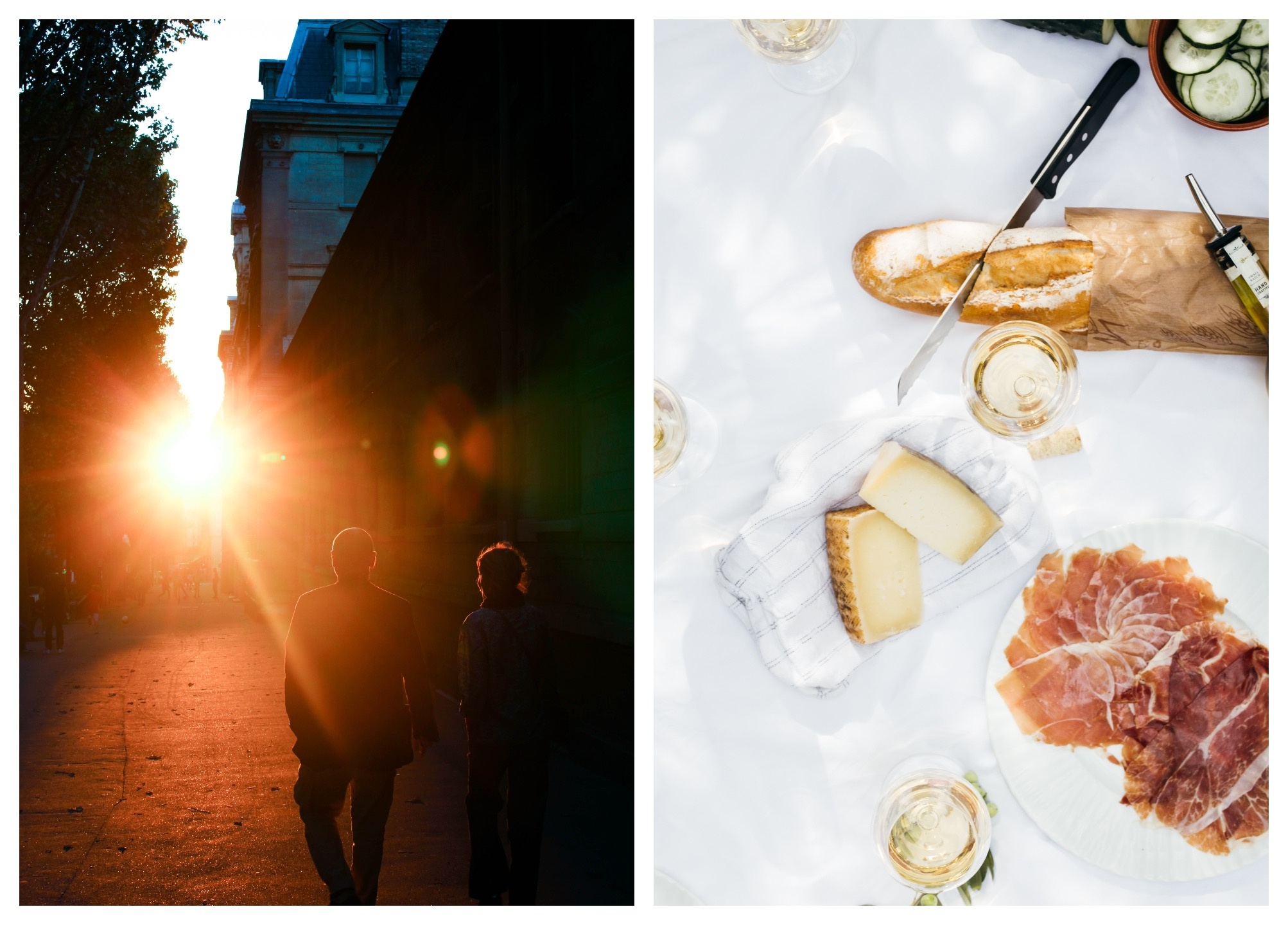 Paris podcast host Oliver Gee tells us how to do Paris, including the best summer spots in the city (left) and the best places for aperitif (right).