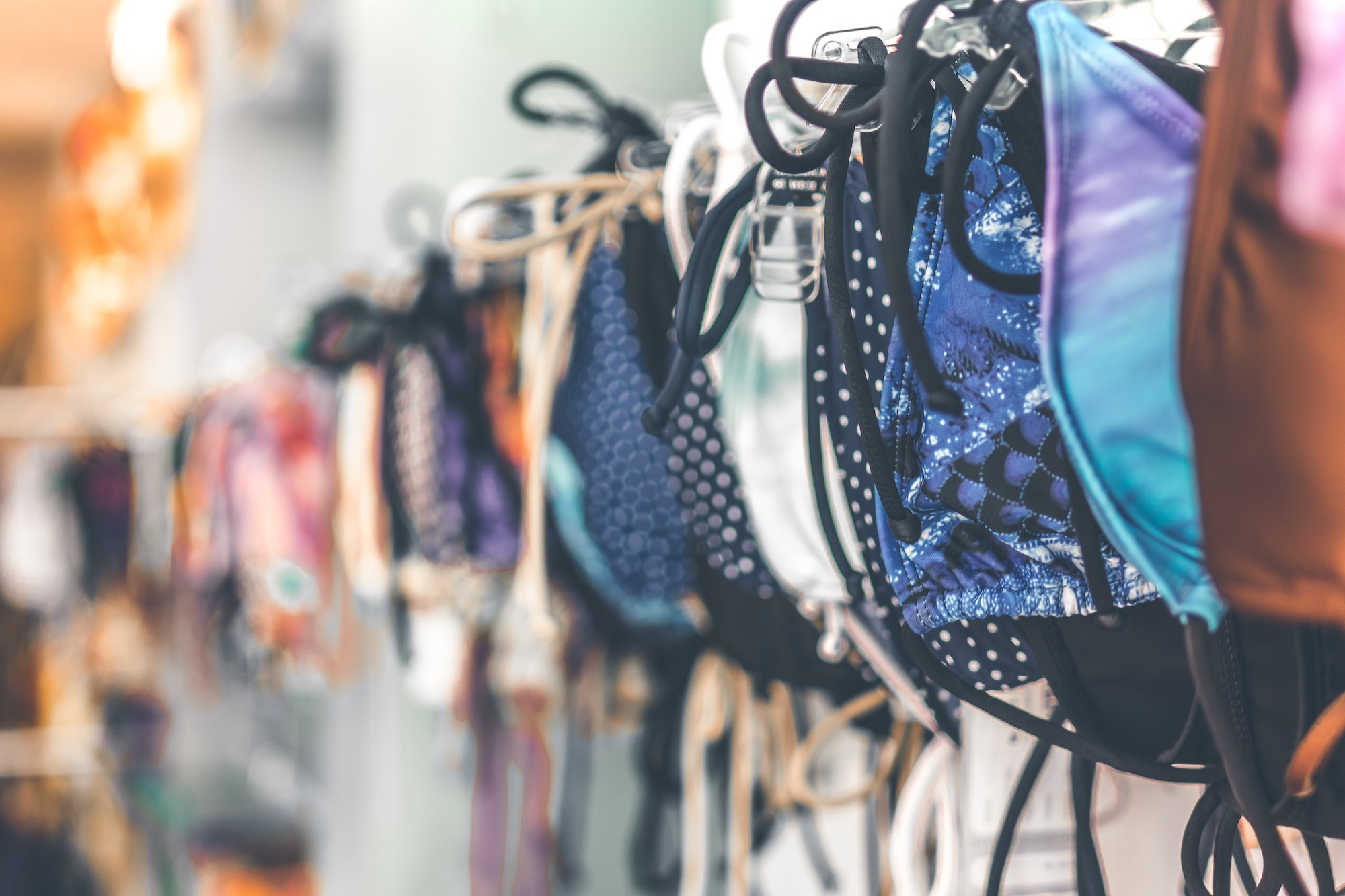 HiP Paris Blog tells you about one writer's experience bikini shopping in Paris and the selection of swimsuits she found at the BHV.